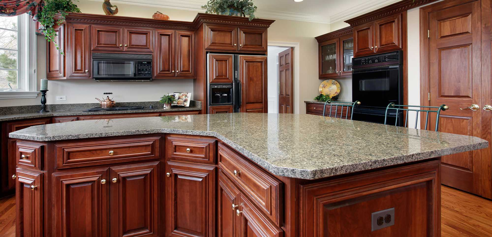 1 Kitchen Countertops Orange