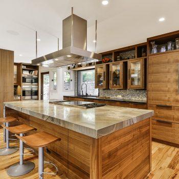 Modern kitchen design in Orange CA